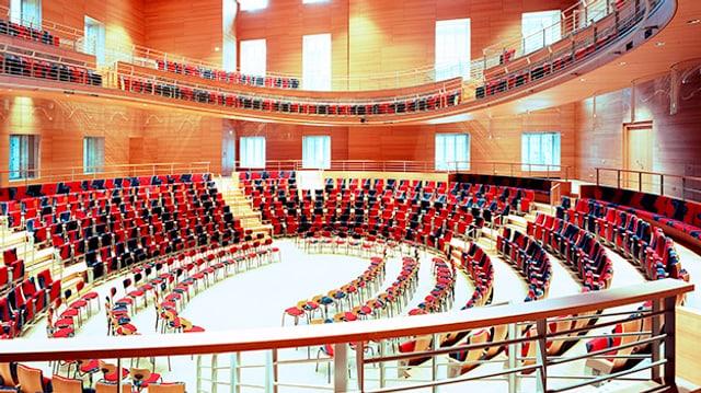 Blick in einen Konzertsaal