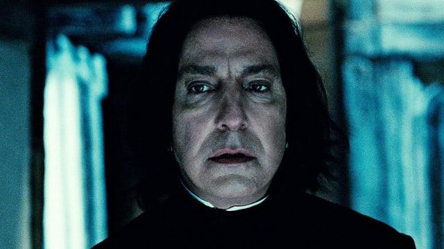 Il professur Severus Snape giugà da Alan Rickman en il film da Harry Potter