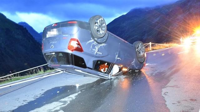 Accident sin la via dal Flüela.