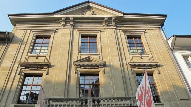Das Rathaus von Winterthur von der Marktgasse aus gesehen