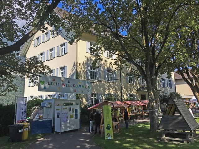 In cordial bainvegni als hosps, la chasa da terapia per uffants e giuvenils Fürstenwald ha avert sias portas.