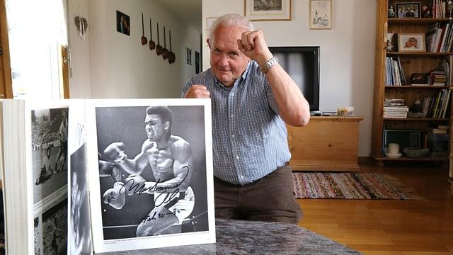 Vinzenz Lechmann è adina stà in grond fan da Muhammad Ali.