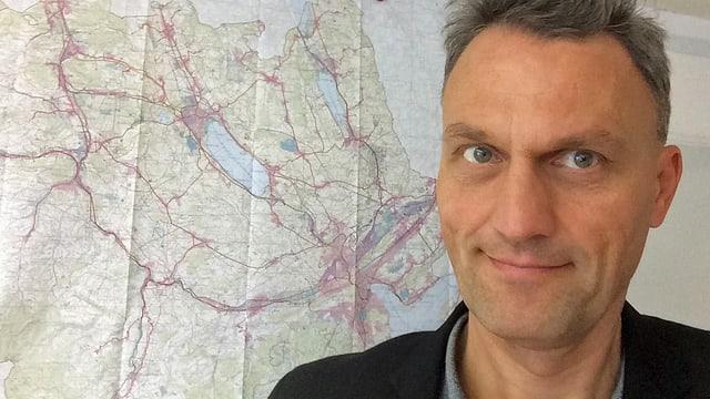 Porträt des Luzerner Kantonsplaners Mike Siegrist.