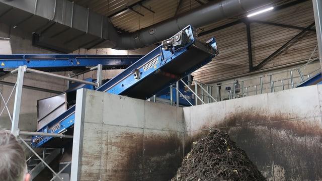 Eine Filteranlage der Biogas AG in Zürich-Altstetten