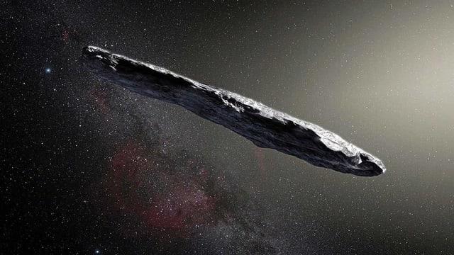 Visualisierung des Asteroiden