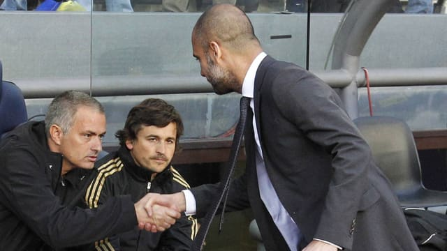 Mourinho und Guardiola