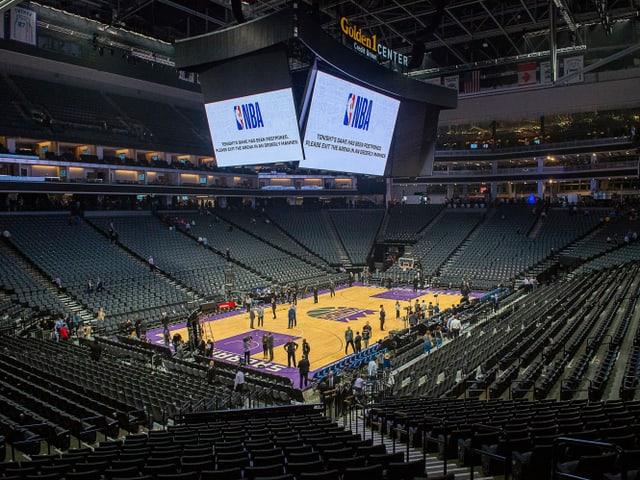 Basketball-Stadion.