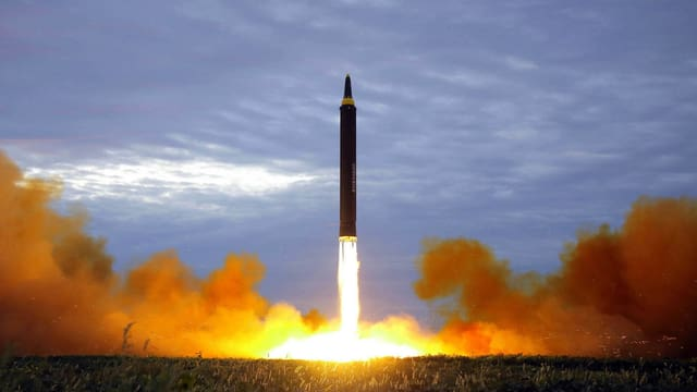 Racheta da la Corea dal Nord.