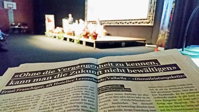 L'inserat da Ernst Frauchiger n'ha betg gì ina influenza sin la radunanza generala da las Pendicularas Lai SA.