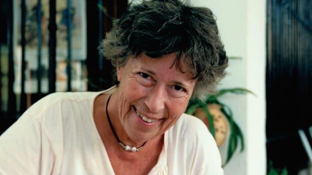 Ein Porträt von Yvette Z'Graggen.