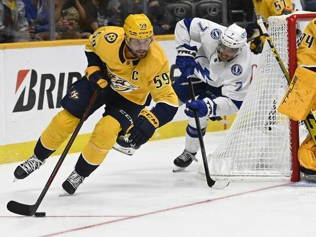 Roman Josi geht als einer von 10 Schweizern in die neue NHL-Saison.