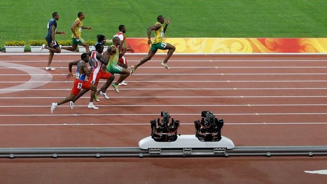 Il final dal sprint il 2008 als gieus olimpics da Penking il 2008.