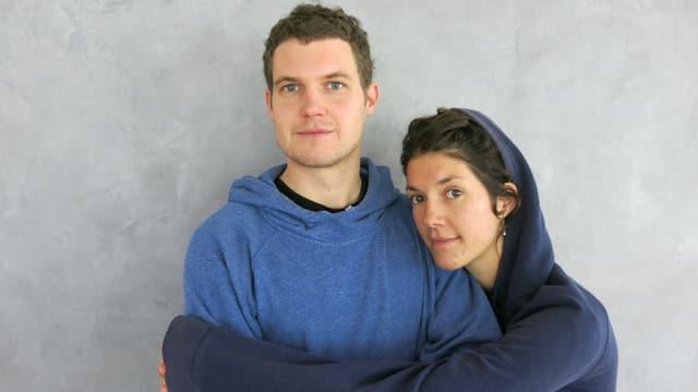 Portrait von Luca und Nina Langensand.