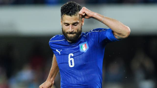 Antonio Candreva im Italien-Dress.