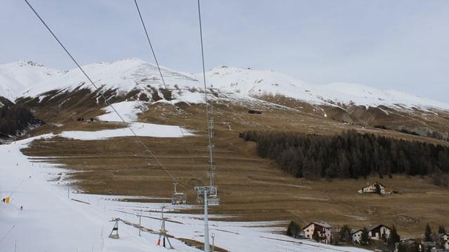 regiun da skis Zuoz senza naiv