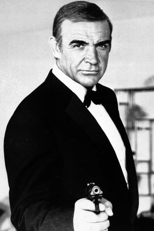 Sean Connery als James Bond.