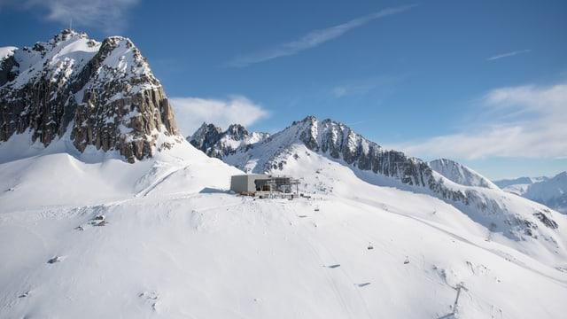La staziun da muntogna al Schneehüenerstock