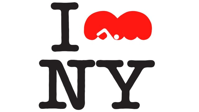In dieser Bildmontatge versinkt das «I love New York»-Logo in den Fluten des Hurrikan Sandy.