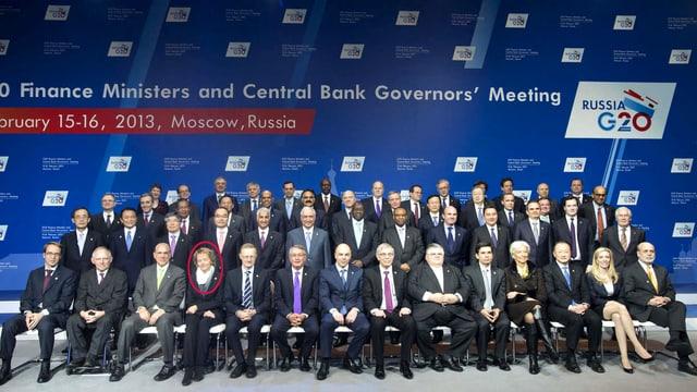 Finanz- und Notenbankchefs der G20