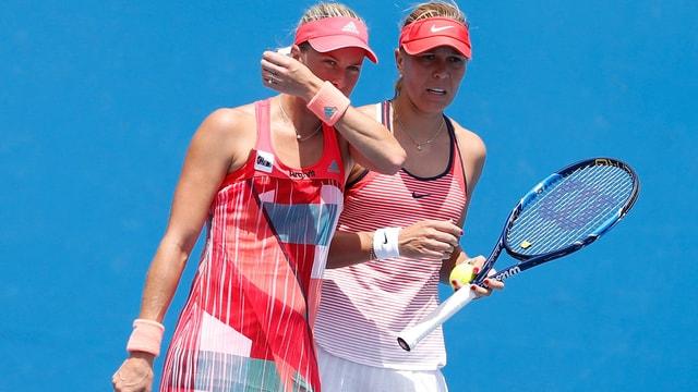 Andrea Hlavackova und Lucie Hradecka