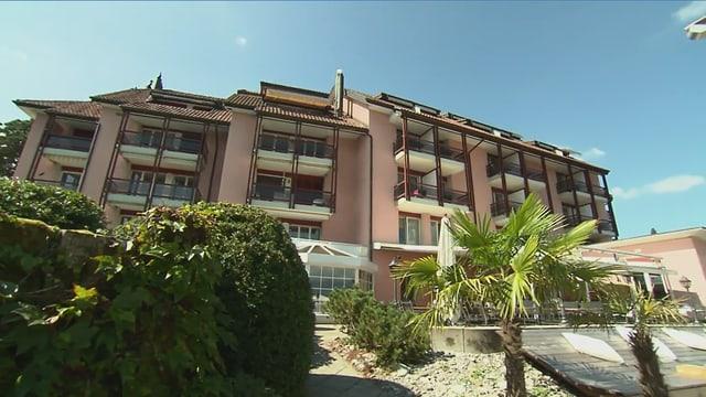 Video «Kanton Luzern – Tag 2 – Seehotel Kastanienbaum, Kastanienbaum» abspielen