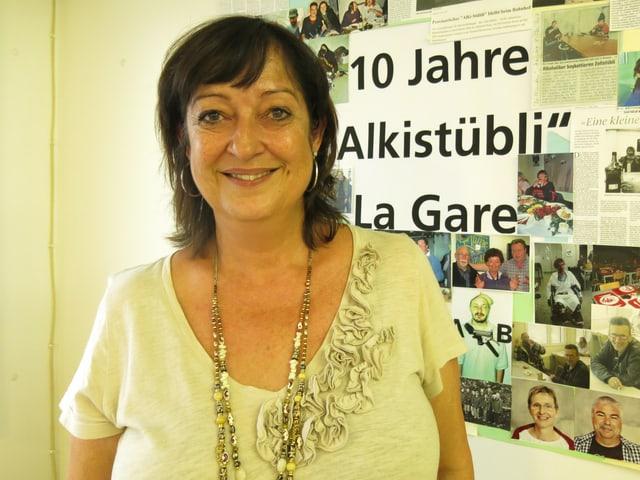 Chantal Zürcher betreut die Alkoholabhängigen. «Das Alkistübli hat die Leute resozialisiert.»