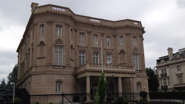 L'ambassada da la Cuba a Washington sa chatta en il medem bajetg sco gia durant ils onns 1917-1961.