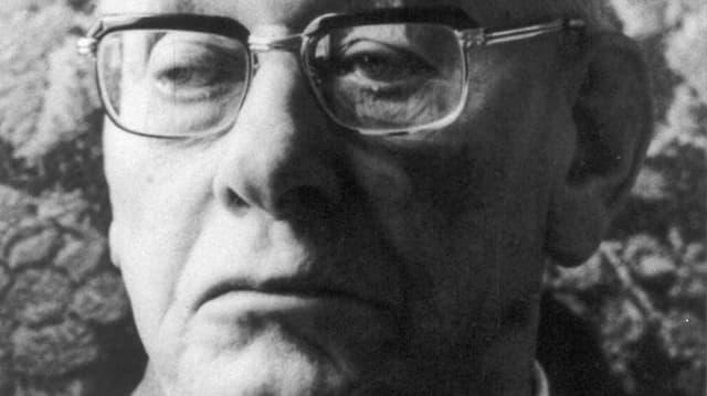 Porträt von Paul Grüninger aus dem Jahr 1970