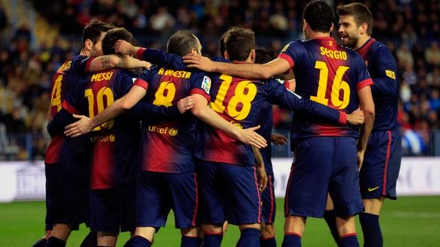 Barcelona jubelt.