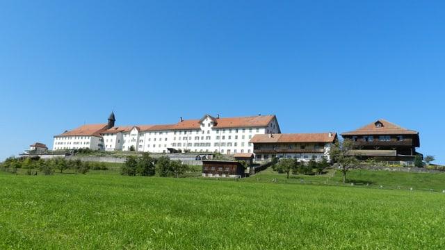 Das Kloster Berg Sion bei Gommiswald