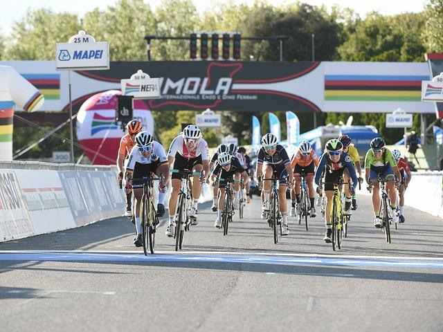 Die besten Radfahrerinnen.
