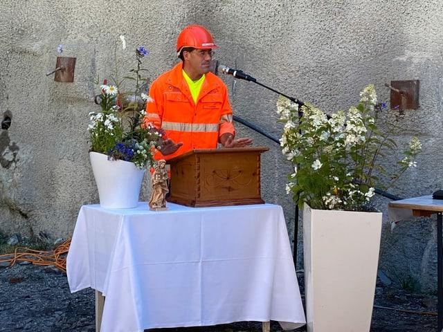 Timo Stammwitz, il manader da project da l'ASTRA.