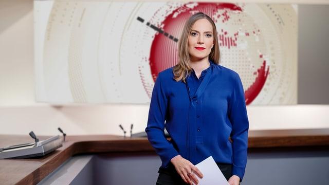Franziska Egli, Moderatorin «10vor10»