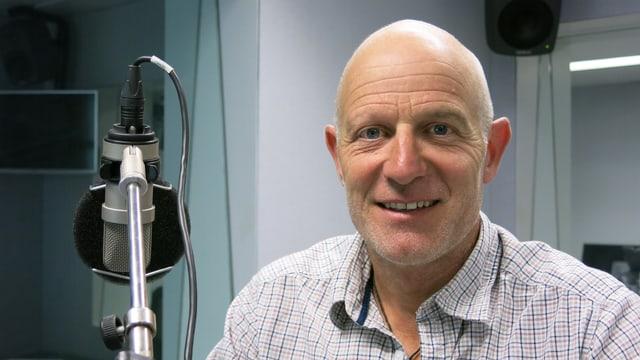 Abenteurer Thomas Ulrich im Radiostudio
