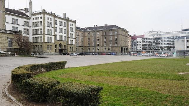 Kasernenareal in der Stadt Zürich