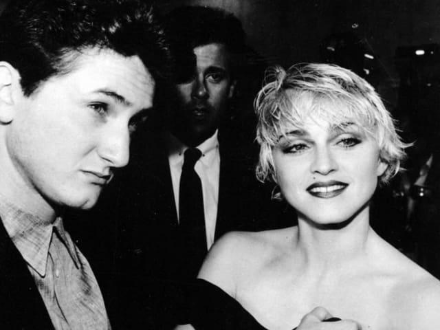 Sean Penn und Popsängerin Madonna