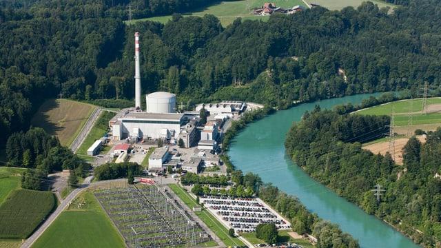 Das Atomkraftwerk Mühleberg