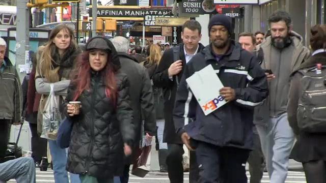 Menschenmenge in den USA.