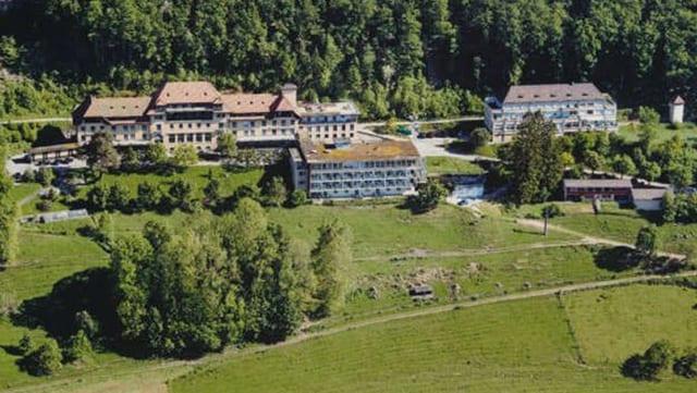 Luftaufnahme der ehemaligen Klinik Allerheiligenberg