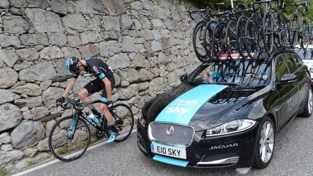 Froome auf der 11. Vuelta-Etappe