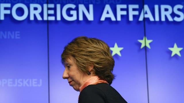 Bild der ehemaligen EU-Chefdiplomatin Catherine Ashton.