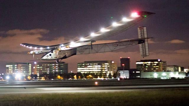 Solar Impulse 2 sa tschenta