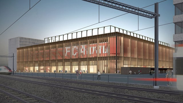 Visualisierung Stadionprojekt