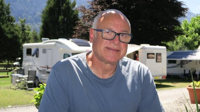 Georges Zehntner vom Camping Alpenblick in Unterseen