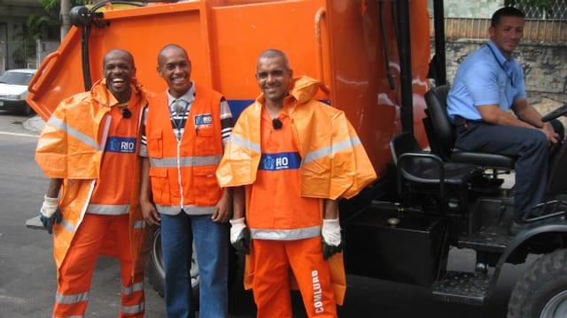 Video «Jobtausch: Brasilien - Müllmänner (Wiederholung)» abspielen