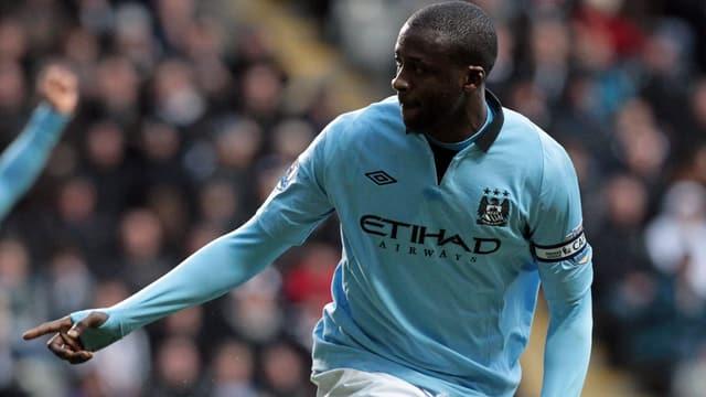 Yaya Touré wurde zum besten Fussballer Afrikas gewählt.