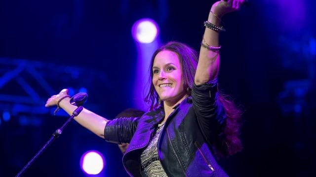 Caroline Chevin auf Bühne