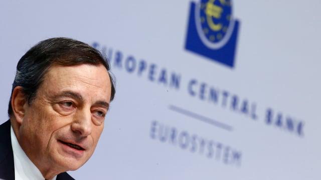 Portrait Mario Draghi