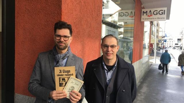 Rico Valàr (sen.) e Dominik Dosch