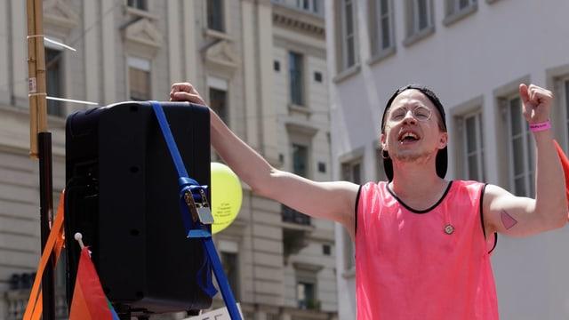 Florian Vock, LGBT-Aktivist und Politiker in der SP Baden